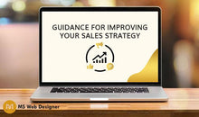 Load image into Gallery viewer, Guidance for improving your Sales strategy
