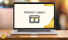 Load image into Gallery viewer, Adding Product Labels (New, Sold Out)