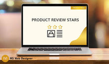 Load image into Gallery viewer, Product Review Stars