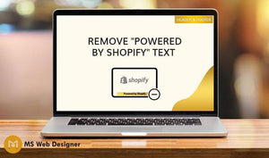 "Remove ""Powered by Shopify"" text"