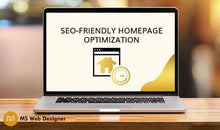 Load image into Gallery viewer, SEO-Friendly Homepage Optimization
