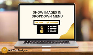 Show images in dropdown menu
