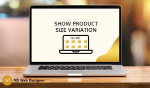 Show Product Size Variation on Collection page