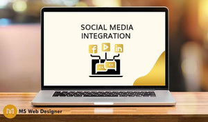 Social Media Integration (Up to 3)