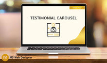 Load image into Gallery viewer, Testimonial Carousel