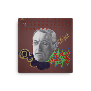 Woodrow Wilson Canvas Print