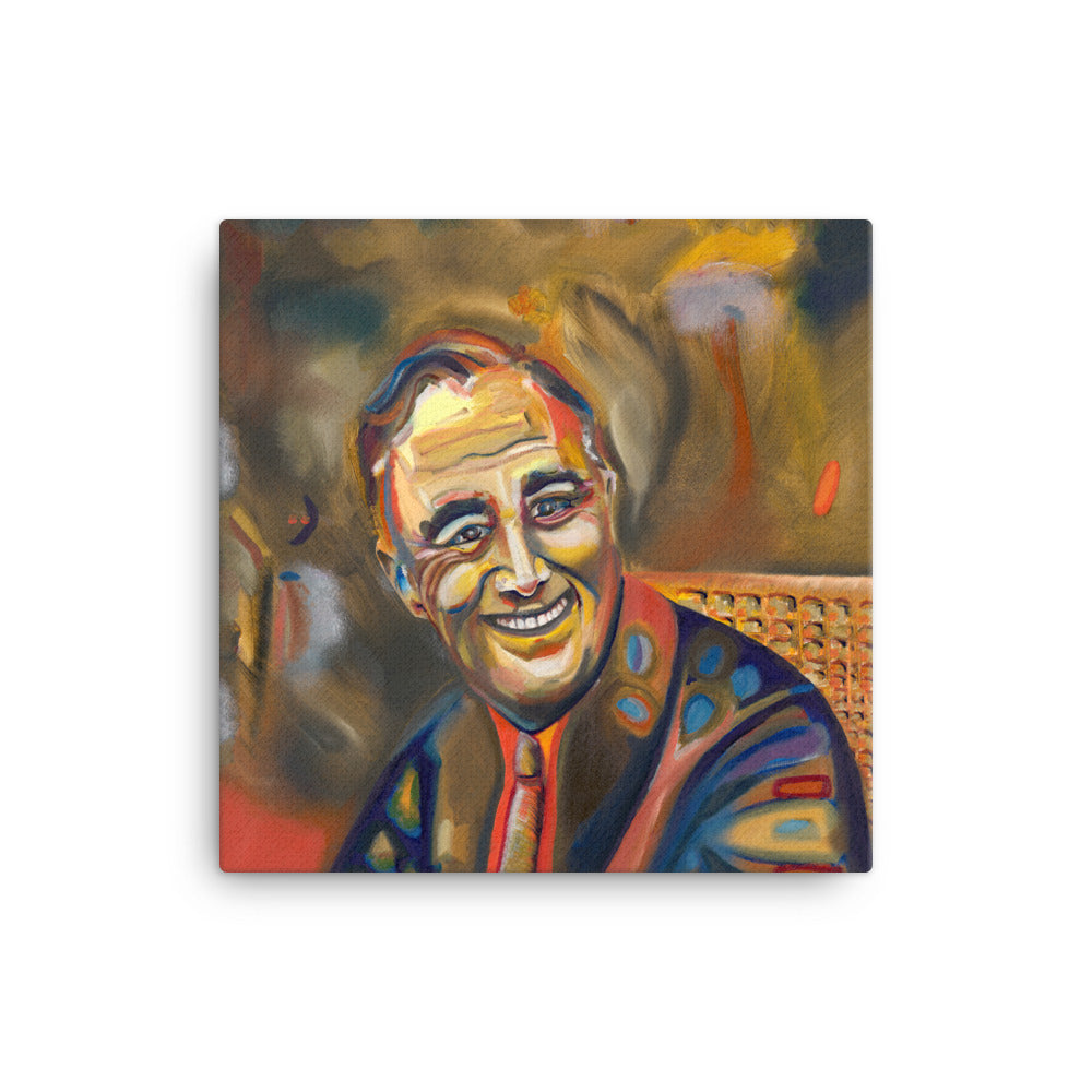 Franklin D. Roosevelt Canvas Print