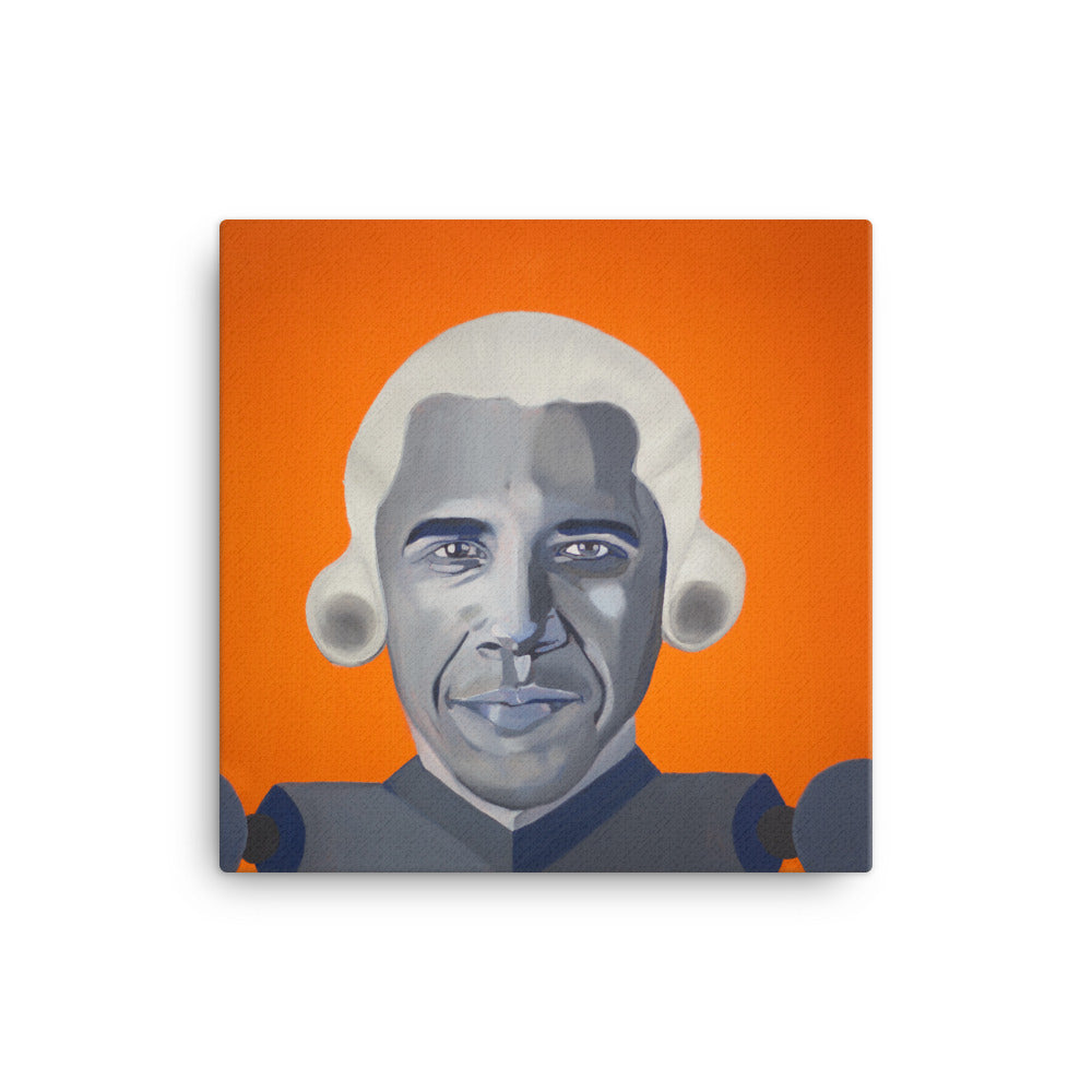Barack Obama Canvas Print