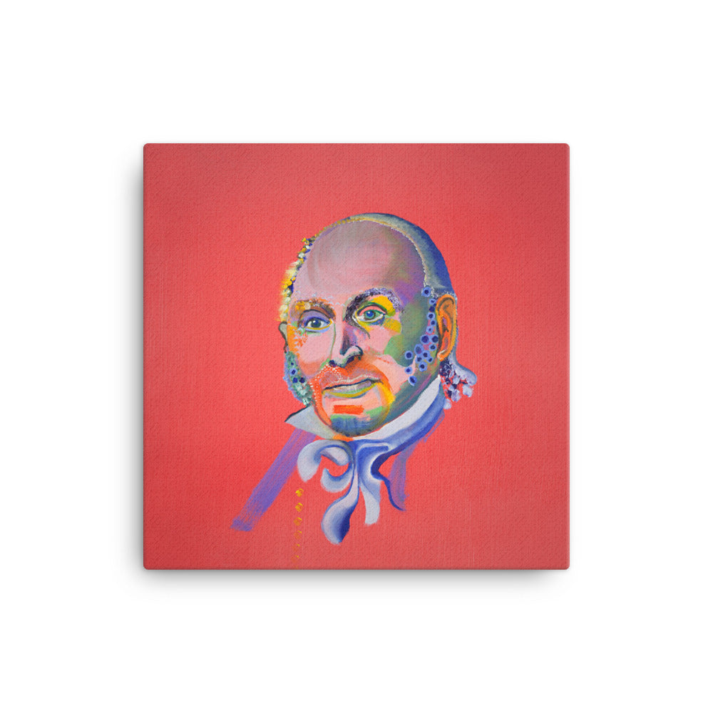 John Quincy Adams Canvas Print