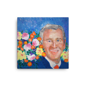 George W. Bush Canvas Print