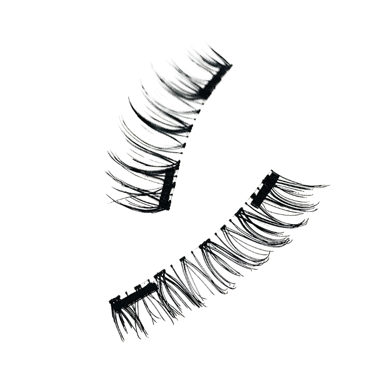 Here Kitty-Kitty Magnetic 3-Way Full Strip Lashes- 1 Pair