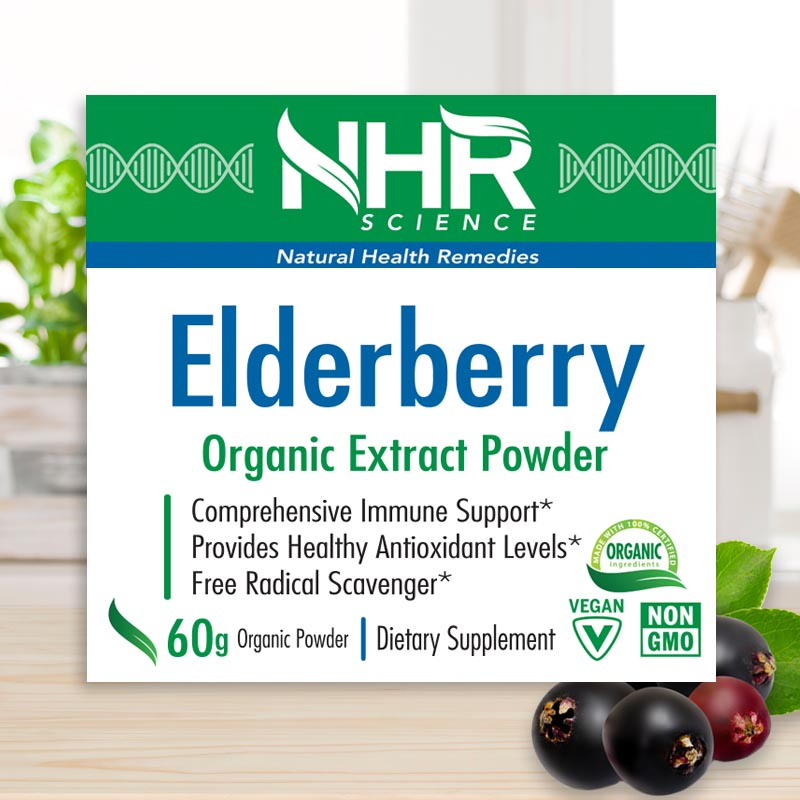 ElderberryCare Organic Elderberry Extract Powder