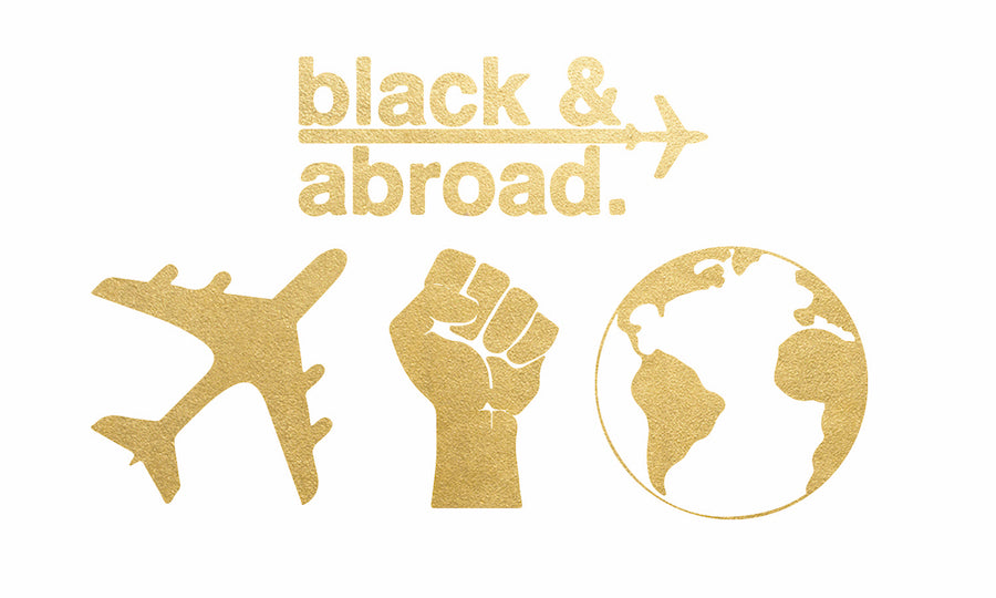 "Jet Black ""Black & Abroad"" Flash Tattoos"