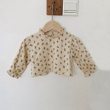 Load image into Gallery viewer, Boho Ditsy Print Blouse