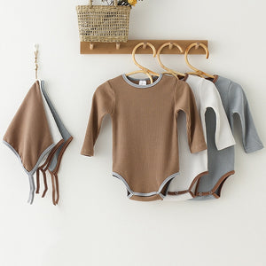Unisex Long Sleeve Baby Bodysuit