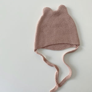 Knitted Bonnet Hat