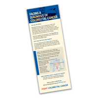 Facing A Diagnosis Rack Card