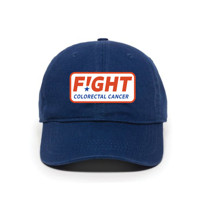 Blue Baseball Hat with Logo