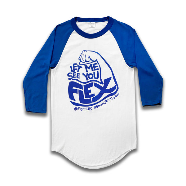 "Vintage ""FLEX"" Baseball T-Shirt ~ Limited Availability"