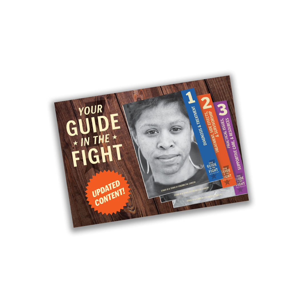Guide in The Fight Post Card