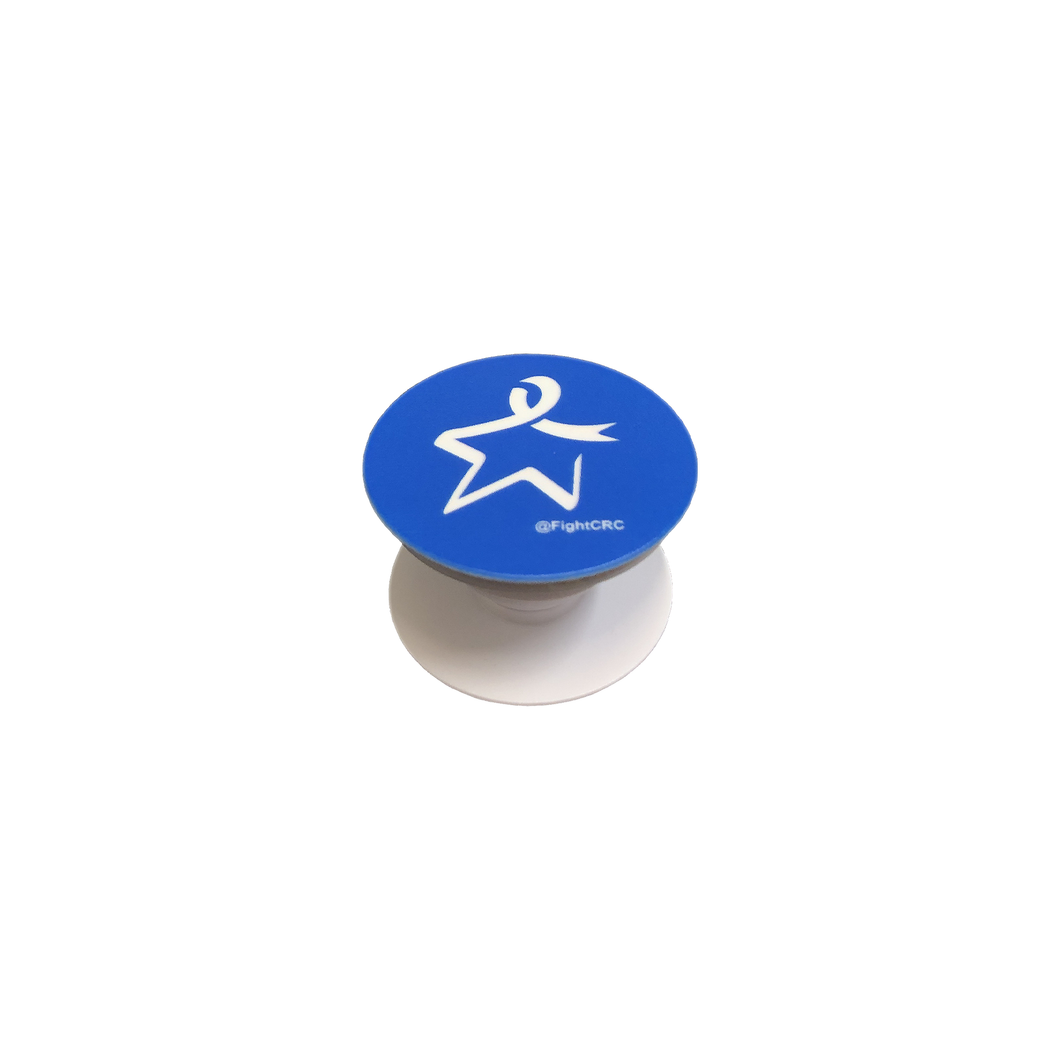 Blue Star Pop Socket