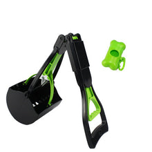 Load image into Gallery viewer, Foldable plastic pet waste scooper