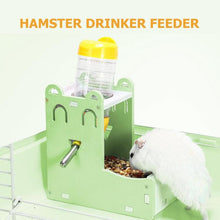 Load image into Gallery viewer, 2 in 1  Water and Food Feeder