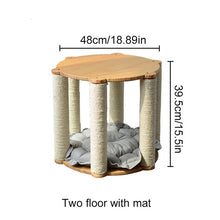 Load image into Gallery viewer, Cat Tree with Sisal Scratching Post