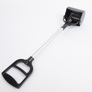 Long-handled Aluminum Pet waste Scooper