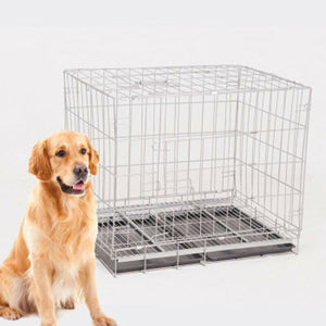 Folding Kennel w/Divider & Tray