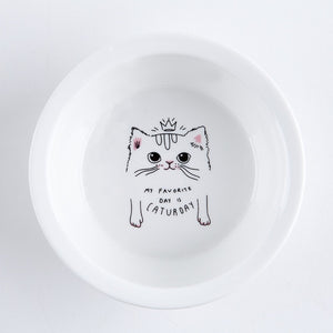 Ceramic Food & Water Bowls