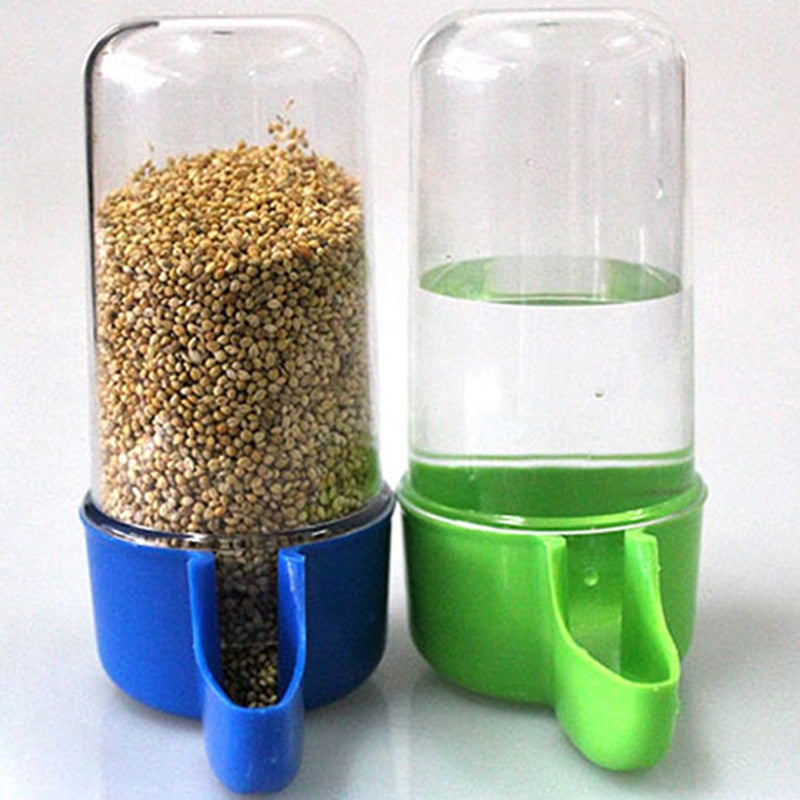 Plastic Automatic Bird Feeder/Water Feeder