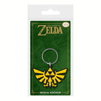 Legend of Zelda - Tri Force Rubber Keyring