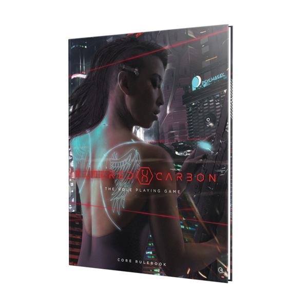 Altered Carbon The Role Playing Game Core Rulebook