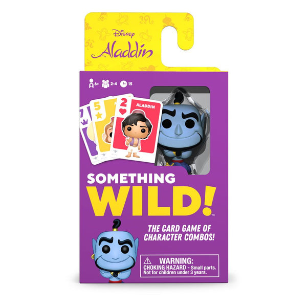 Disney Aladdin Card Game Something Wild!