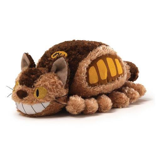 Studio Ghibli Plush Figure Little Fluffy Cat Bus 20 cm