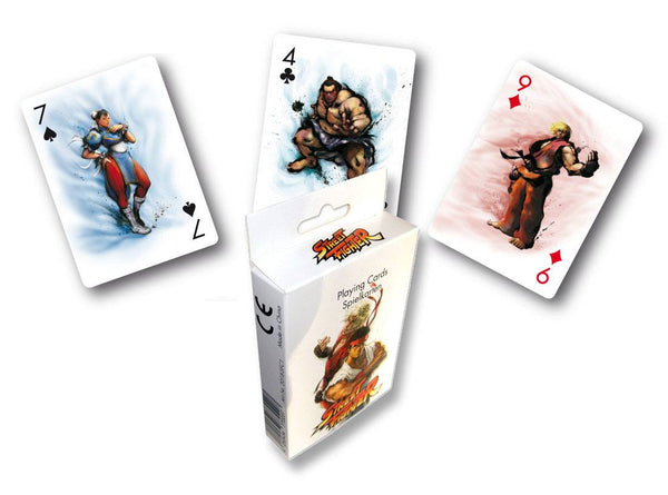 Street Fighter  Playing Cards
