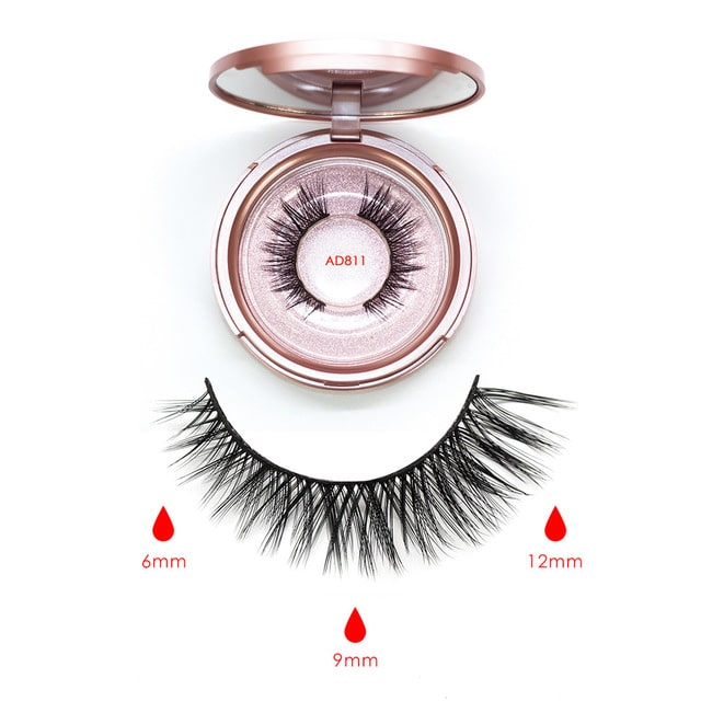 25% Off | Magnetic Eyelashes With Magnetic Eyeliner (Kit) - Waterproof & Long Lasting!