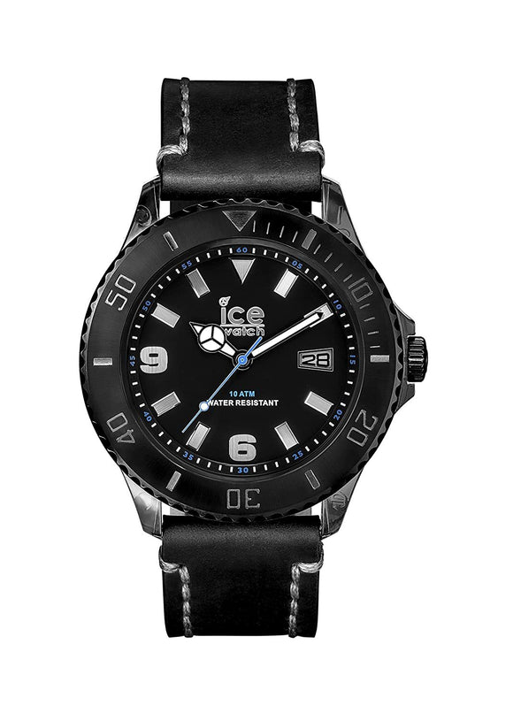 Ice Watch Vintage Black Gray Big Big