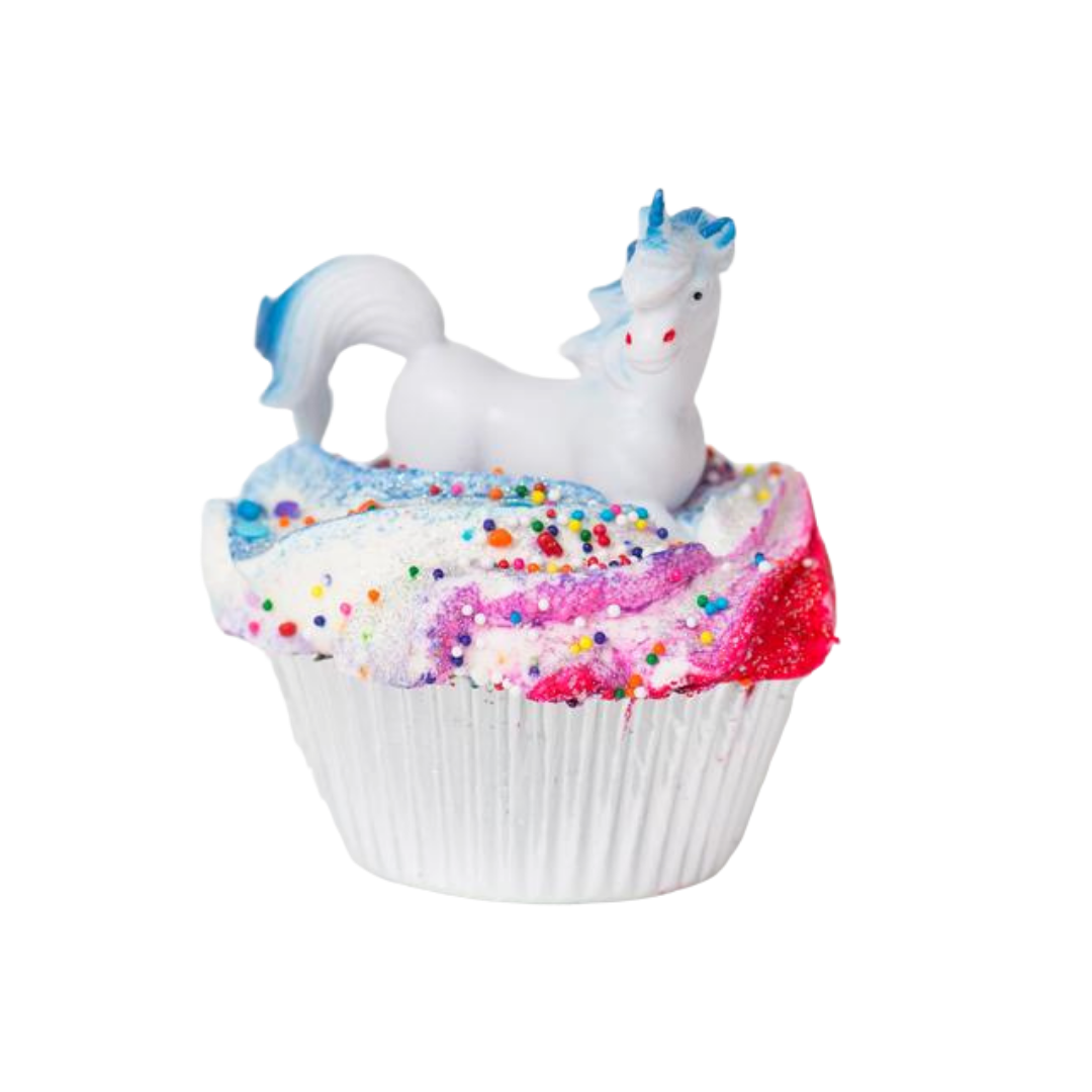 Unicorn Dreams Cupcake Bath Bomb - devinewellness