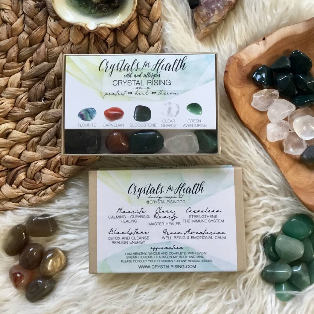 Crystals For Health Box Set - devinewellness