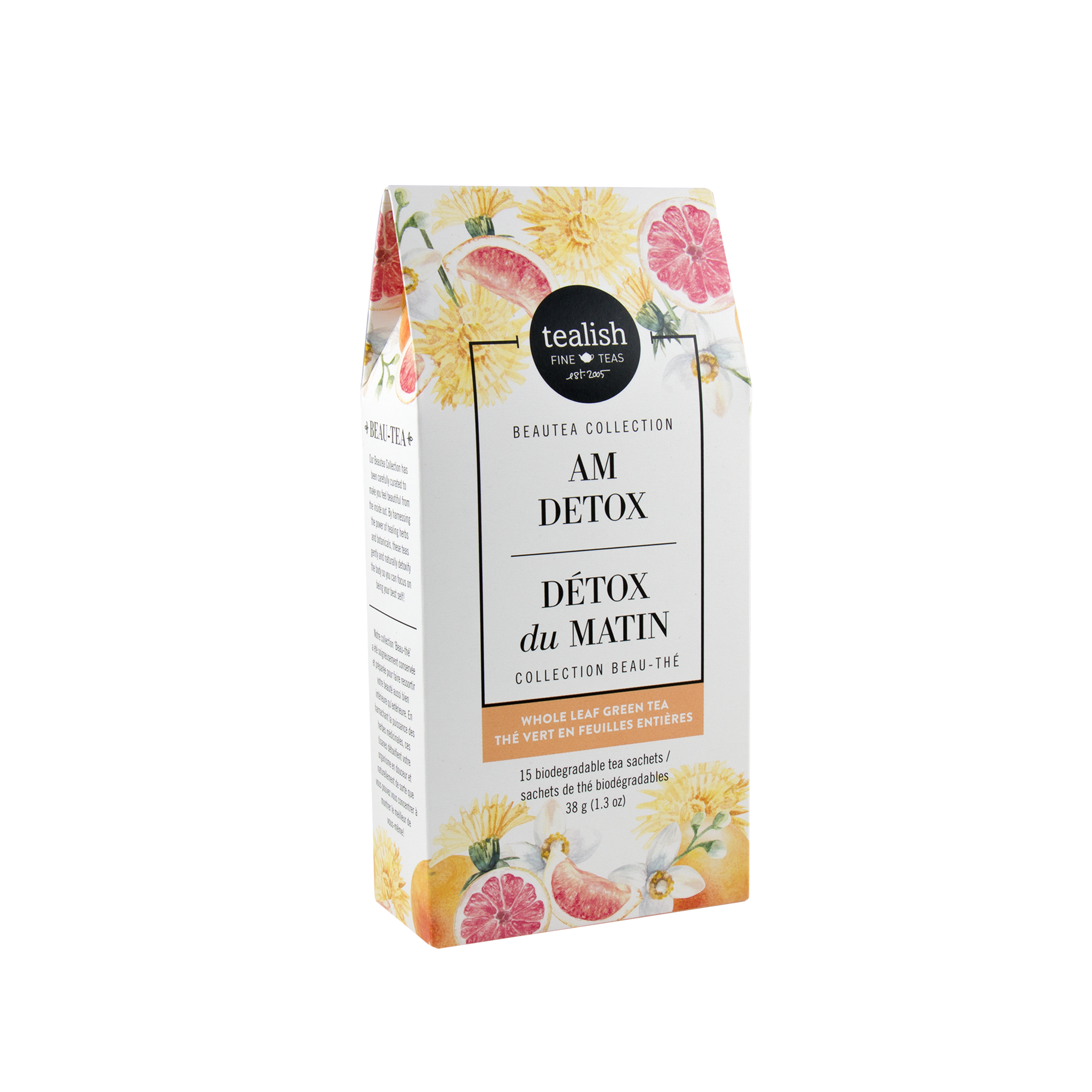 AM Detox Green Tea Box - devinewellness