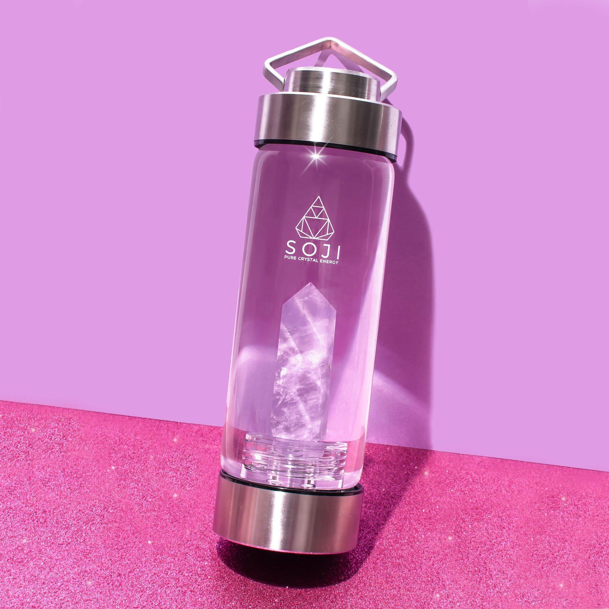 Amethyst Quartz Water Bottle - devinewellness