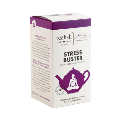 Stress Buster Herbal Tea Box - devinewellness