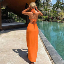 Load image into Gallery viewer, Trendy Halter Women Sexy Backless Maxi Dress