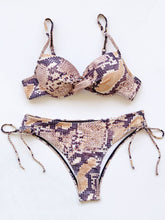 Load image into Gallery viewer, 2021 New Coming Push Up Snakeskin Bathing Suit