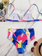 Load image into Gallery viewer, New Arrival V Neck Print Colorful Swimsuit