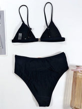 Load image into Gallery viewer, Fashion Two Piece High Waisted Bathing Suits