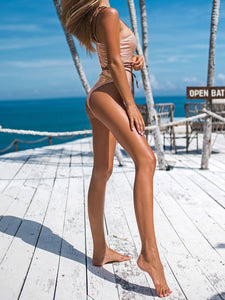 Best Snakeskin One Shoulder One Piece Swinsuit