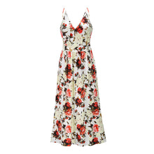 Load image into Gallery viewer, Sexy Women Evening Party Print Floral Maxi Dress